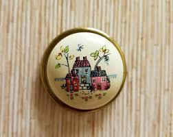 Porcelain Knobs For Kitchen Cabinets Farmhouse Knobs Etsy