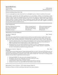 Microsoft Works Resume Template Resume Chef Resume Objective Examples Example Chef Resume