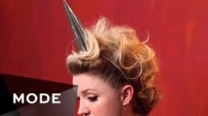 easy unicorn fauxhawk for halloween halloween style scene