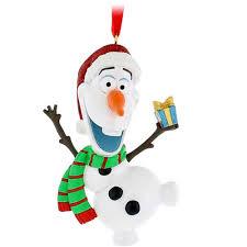 your wdw store disney ornament santa olaf