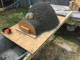 goods home design diy wood fired pizza oven made with an exercise ball for 135 home