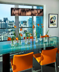 dining room popular dining chairs design with trends orange