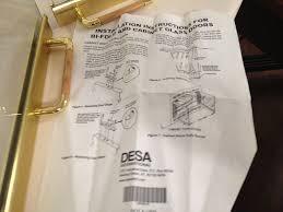 desa u0026 fmi brushed brass wood u0026 gas 42