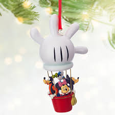 new sketchbook ornaments at the disney store