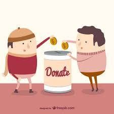charity donation vector free