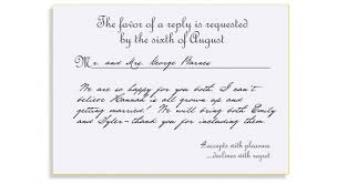 how to respond to wedding invitation how to respond to wedding