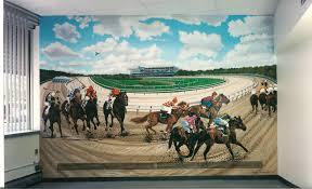 Horse Murals by Bonnie Siracusa Murals U0026 Fine Art