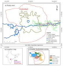 Hyderabad Map Remote Sensing Free Full Text Urban Sprawl And Adverse Impacts