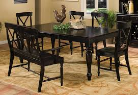 Dining Table Chairs And Bench - dining table with bench and chairs by intercon wolf and gardiner