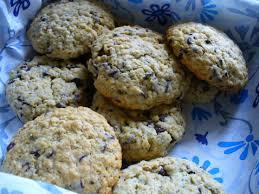 cuisiner flocon d avoine recette cookie aux pépites de chocolat et flocons d avoine 750g
