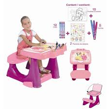 set de bureau fille bureau enfant set de coloriage disney princess achat vente