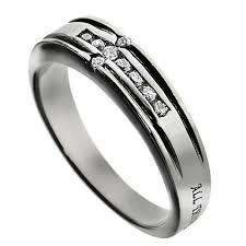 bible verse rings my strength promise ring bible verse with cz cross