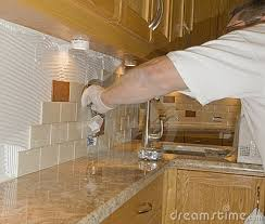 installing ceramic tile backsplash in kitchen ceramic tile backsplash ceramic tile installation on kitchen