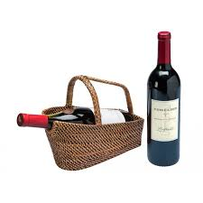 wine basket wine bottle basket and decanter rattan nito