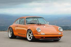 porsche singer singer racing orange porsche 911 porsche mania