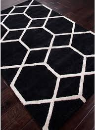 Modern Rugs Chicago Modernrugs City Chicago Black White Modern Rug Black White