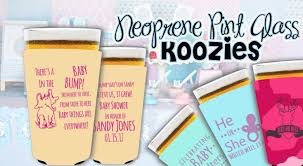baby shower koozies planning the gender reveal party