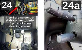 how to retrofit cruise control to a 2001 406 hdi 90 rapier
