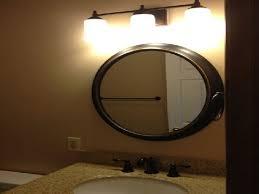 oil rubbed bronze bathroom mirrors walmart home design ideas