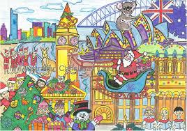 australian christmas cards christmas lights decoration