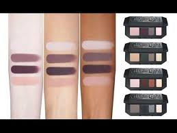 kat von d shade light eye contour palette kat von d shade light eye contour quads review youtube