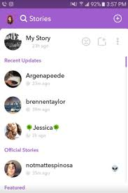 snapchat official stories facebook cv u0027s and tbh the app smart