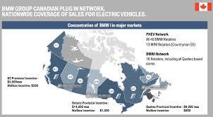 bmw has a plan to capitalize on canada u0027s big ev program
