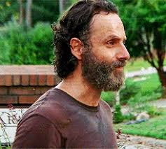 rick grimes hairstyle these 11 walking dead men could kill you with their beards mtv