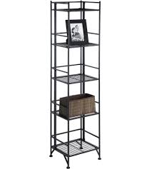 free standing storage and display shelves organize it