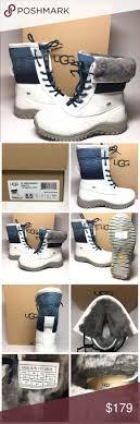 ugg s adirondack ii leather apres ski boots