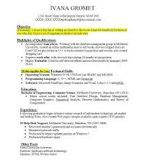 experience format resume efficiencyexperts us