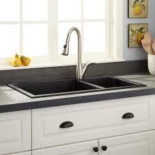 30 Inch Drop In Kitchen Sink Modern Kitchen Bowl Drop In Granite Sink Black Awesome