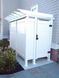 outdoor shower door great places to clean up after working or 3d house design