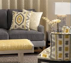 Best Gray  Yellow Living Room Images On Pinterest For The - Yellow living room decor