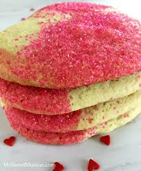 heart shaped crackers sparkly pink heart shaped cookies my sweet mission