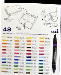 prismacolor markers prisma markers set of 48 beautifulelegance
