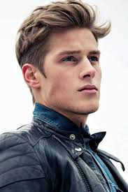 men haircut to make strong jaw short hair guy dirty blond square jaw romance hero