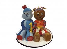 iggle piggle u0026 upsy daisy 3d cakes