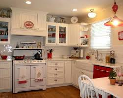 Red Kitchen With White Cabinets 132 Best Red Kitchens And Yellow Too Images On Pinterest Red