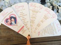 cardstock for wedding programs engagement photo wedding programs fan programs 4 petals