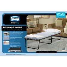 Simmons Natural Comfort Mattresses Simmons Beautysleep Folding Foldaway Extra Portable Guest Bed Cot