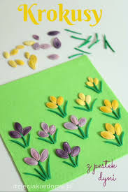 16 best flower crafts kwiaty images on pinterest flower crafts