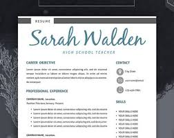 free modern resume template professional resume template resume template for word cv