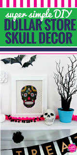 halloween decor stores diy dollar store skull halloween decor my life and kids