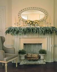 119 best garland mantel ideas images on