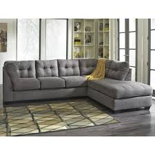 sectional pull out sofa benchcraft mayberry 2 piece sectional w sleeper sofa u0026 right