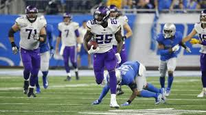 vikings vs lions live updates score and highlights for