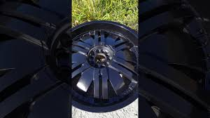 best black to use to paint chrome rims black