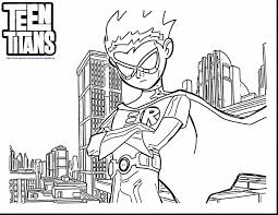 teen titans coloring pages teenage coloring pages