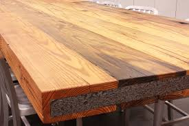 sir belly rustic heart pine table top caddetails the distinguished line of j aaron wood and butcher block countertops are custom designed and available in varying thicknesses construction styles and with